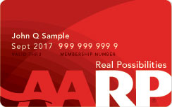 Your AARP membership number can be found on the front of your membership card